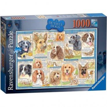 Dutiful Dogs 1000 Piece Puzzle