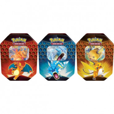 Pokemon Hidden Fates Tin Assortment