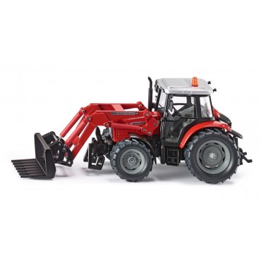 Massy Fergusson Tractor W/Front Loader 1:32