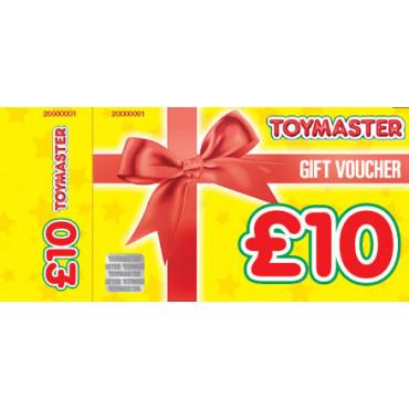 10 Euro Toymaster  Gift Voucher
