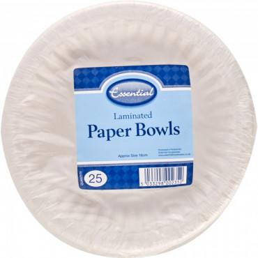 Paper Bowl Pk 25
