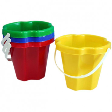 Sandbucket 18Cm Asst- Specify Which Colour