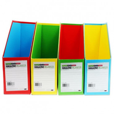 Magazine Organiser- Assorted Colours