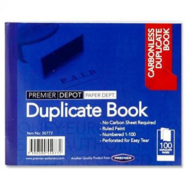 Duplicate Book Carbonless 4X5
