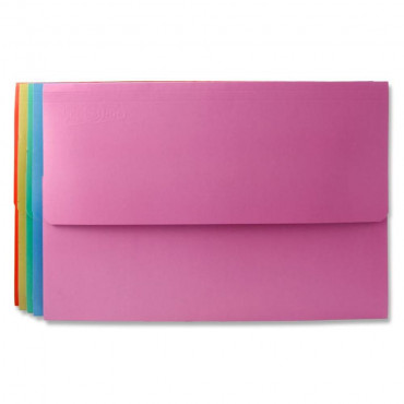 Document Wallets Assorted Single