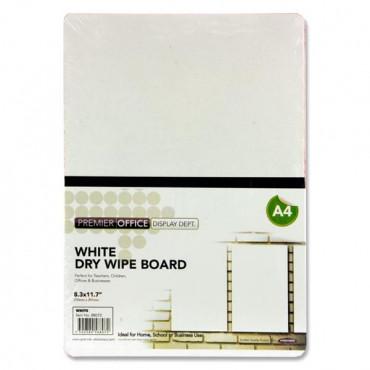 Dry Wipe Board White