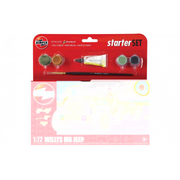 Airfix Starter Set Jeep Mb