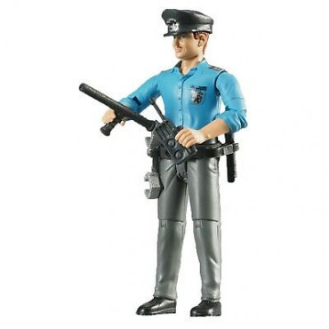Bruder Figure Policeman With Accesories