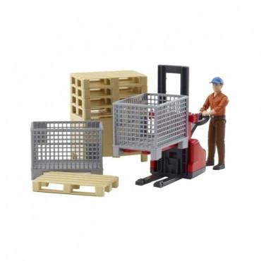 Bworld Logistics Set With Figure