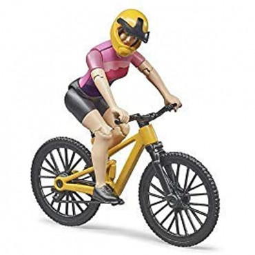 Bworld Mountain Bike With Cyclist