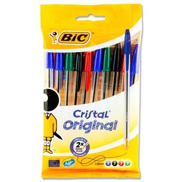 Bic Ball Point Pens 10Pk