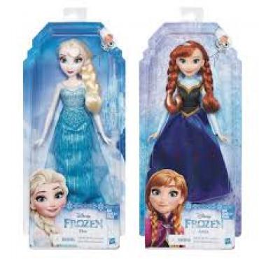 Frozen Classic Doll Asst
