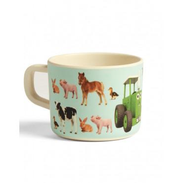 Tractor Ted  Bamboo  Mug Baby Animals