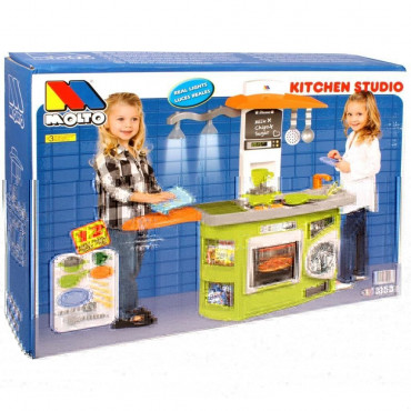 Play Kitchen with Lights 81cm