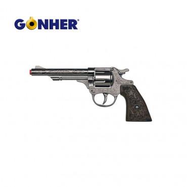 Gun Die Cast Metal 8 Shot Gonher