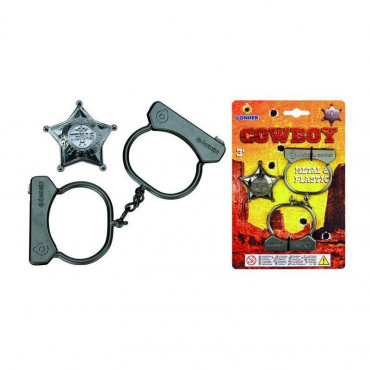 Handcuffs and Badge Gonher