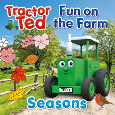 Fun On The Farm Seasons Tractor Ted Book