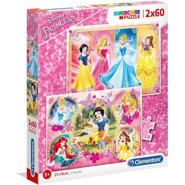 2 x 60pc Puzzle - Princess