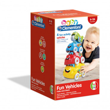 Baby Clementoni Fun Vehicles