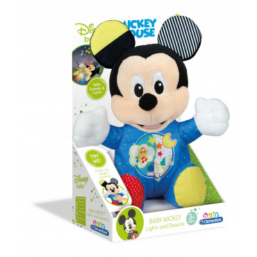Baby Mickey Interactive Plush