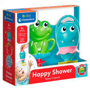 Baby Clementoni My first Friends - Bath Toys