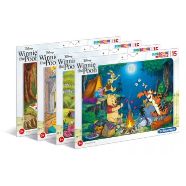Winnie The Pooh Frame Puzzle 15Pc