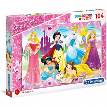 104pc Puzzle - Princess