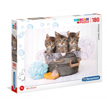 180pc Puzzle - Lovely Kittens