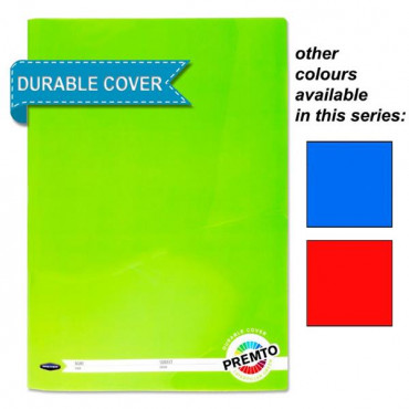 A4 Manuscript with Durable Cover 160pg- Assorted C