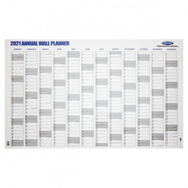 2021 Annual Wall Planner