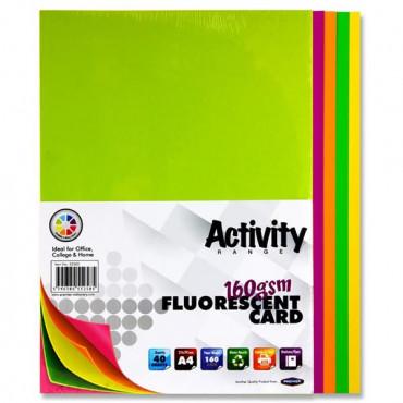 A4 Card Activity 40 Sheets
