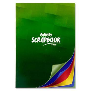 A4 Activity Pad 48Pg Scrap Book