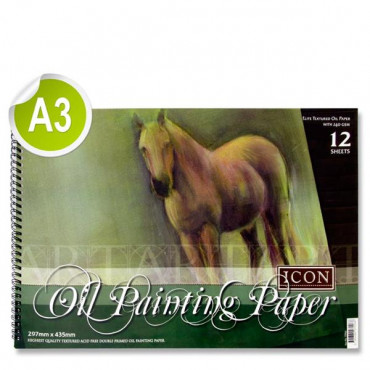 A3 Oil Painting Pad 240Gsm
