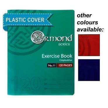 120Pg Copybook  Plastic Cover