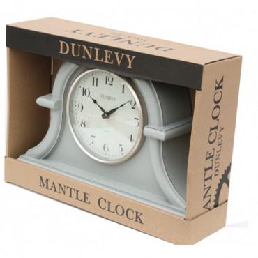 Grey Mantle Clock 32Cm