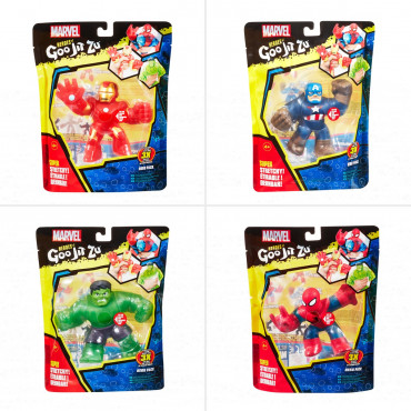 Goo Jit Zu Marvel Heros Assorted Single