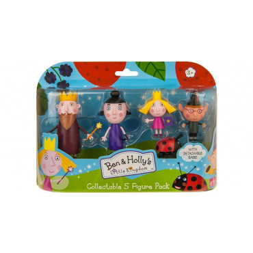 Ben And Holly 5Pkt Figures