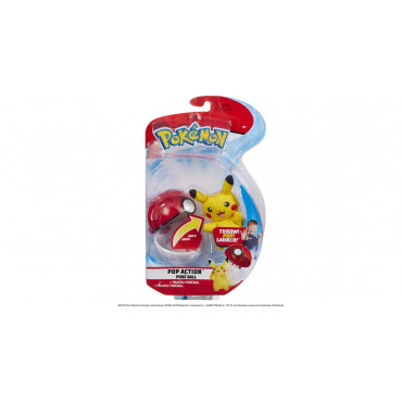 Pikachu Pop Action  Pokeball Pikachu