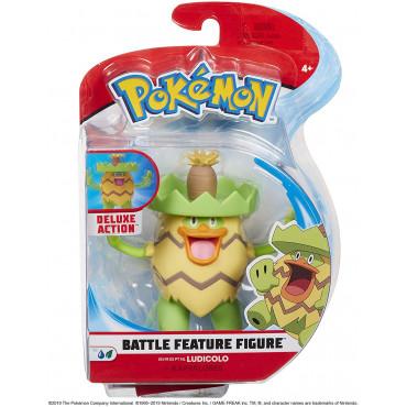 Pokemon Ludicolo 4.5 Battle Figure
