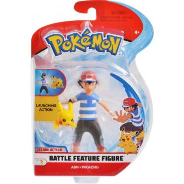 Pokemon 4.5In Battle Fig Assorted
