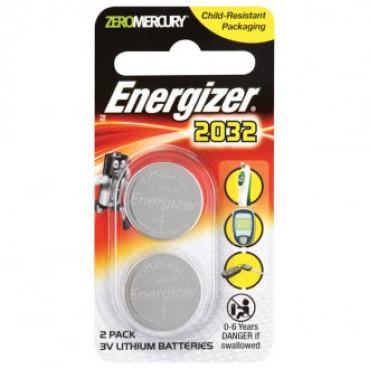 Cell Battery 2032 Pk 2 3V