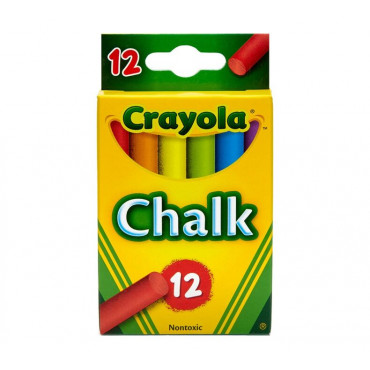 Crayola Chalk Coloured