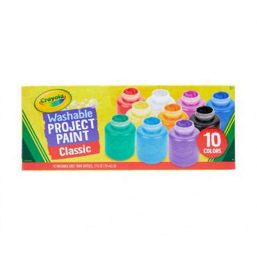 Crayola Washable Kids Paint Pk10