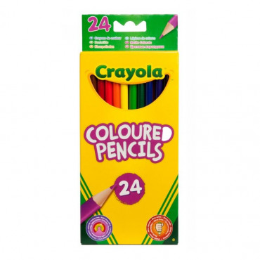 Crayola Colouring Pencils Pk 24