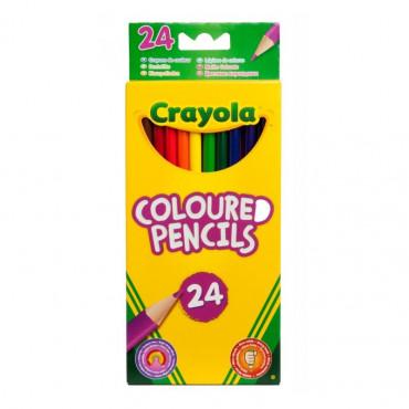 Crayola Colouring Pencils Pk 24