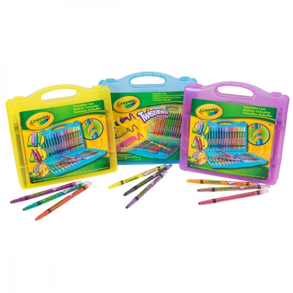 Crayola Twistables In Case 32 Piece