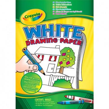 Crayola A4 White Pad