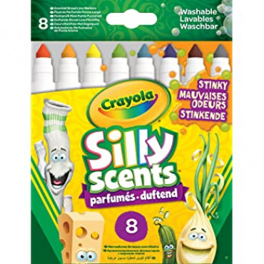 Crayola 8pk Silly Scents Markers