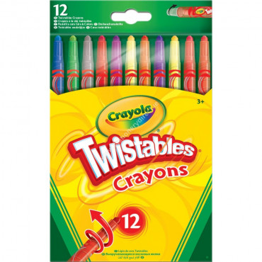 Crayola Twistable Crayons Pk 12