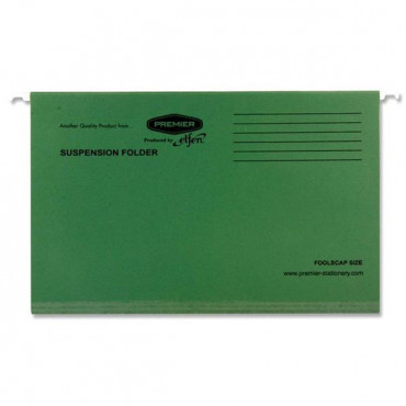 Foolscap Suspension File  Dark Green
